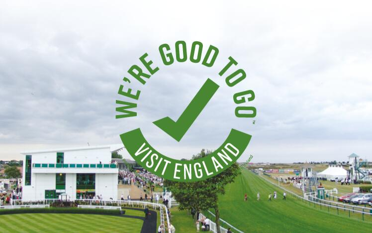 Great Yarmouth Racecourse has successfully completed Visit England's UK-wide industry 'We're Good To Go' accreditation mark